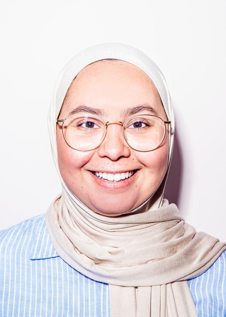 Sofia heeft Juf Soof opgericht, waarmee ze de kloof tussen arme en rijke kinderen in Amsterdam wil verkleinen. Beeld Hilde Harshagen