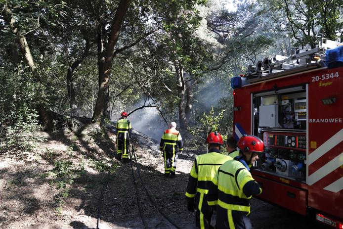 De brandweer kon een grotere brand voorkomen.