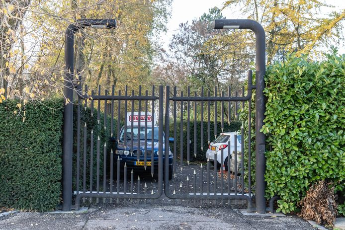 De entree van de Vereniging Maerloo, aan de Campweg in Sint-Philipsland.