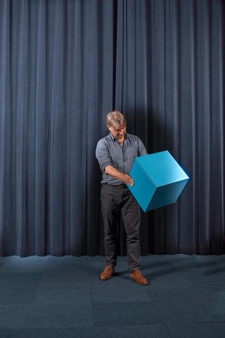 Yoeri Albrecht: 'Soms moet je zelfs die grens op durven rekken' Beeld Rogier van 't Slot