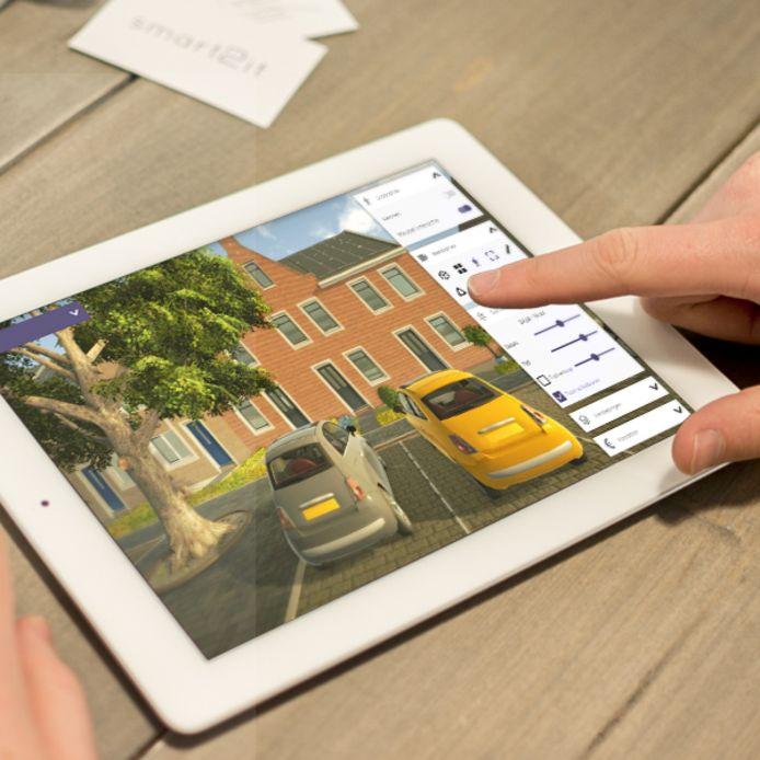 Met de software Innobrix kan een kandidaat-koper een eigen huis samenstellen.