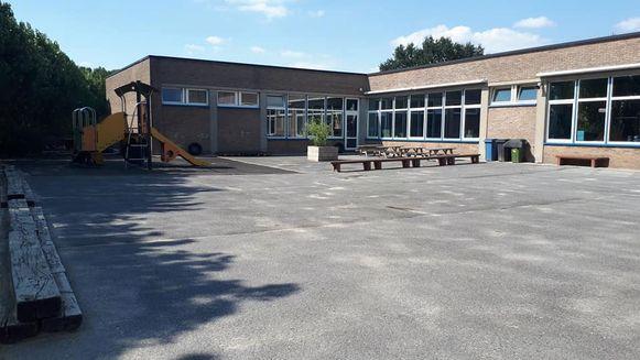 De Sint-Elooischool kreeg van Vlaanderen al een mooie financiële injectie voor de verfraaiing van de speelplaats.