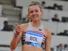 Femke Bol scherpt Nederlands record op 400 meter aan