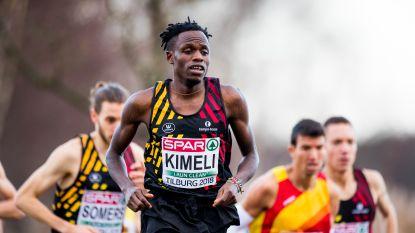 Isaac Kimeli voert Europese ploeg aan in prestigieuze Great XCountry
