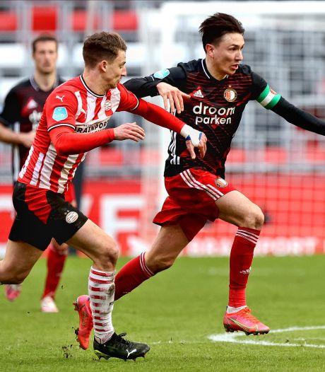 Met attractief potje pingpongen in Eindhoven schieten PSV én Feyenoord niks op