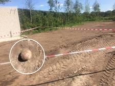 Gevonden 'granaat' bij ijsfabriek Hellendoorn blijkt kanonskogel