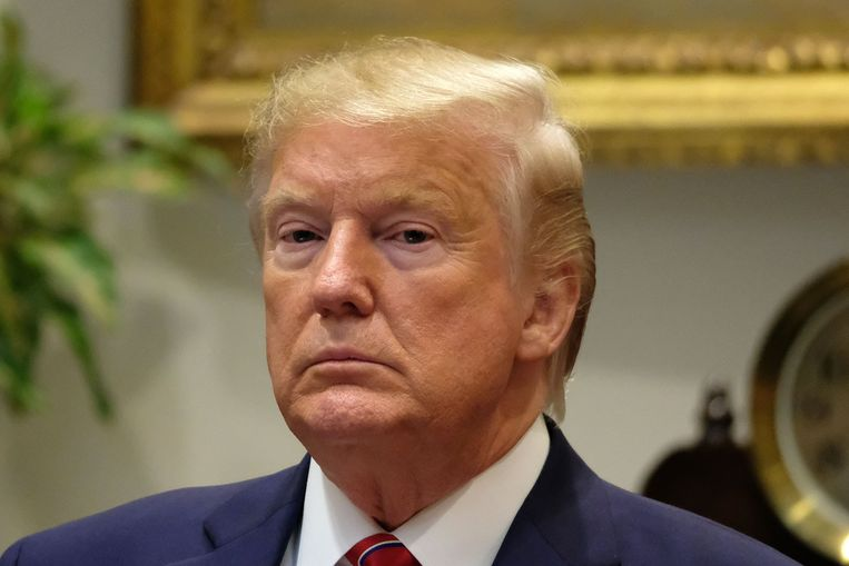 Amerikaans president Donald Trump Beeld Photo News