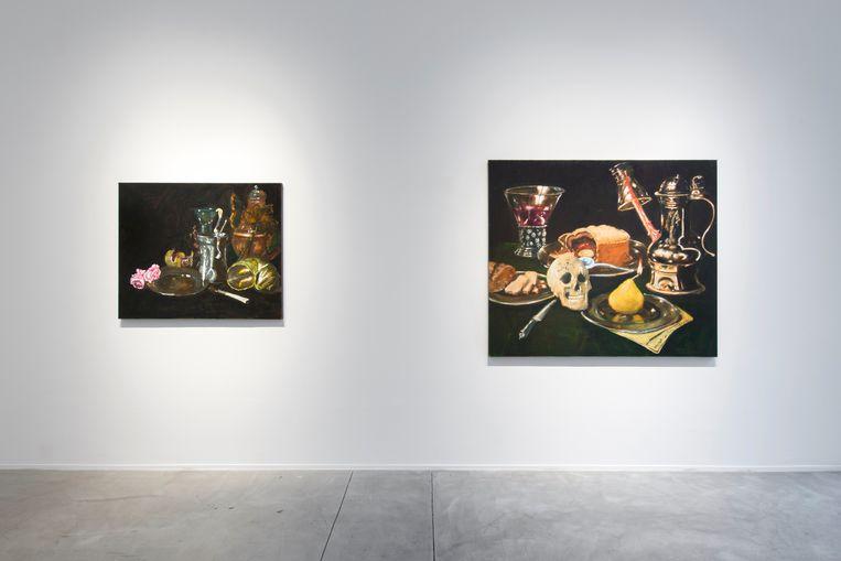Jan Van Imschoot vond inspiratie in de Gouden Eeuw. Beeld Galerie Templon