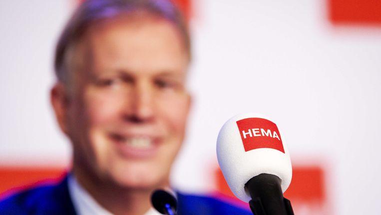 Marcel Boekhoorn tijdens de overnamepresentatie Beeld anp