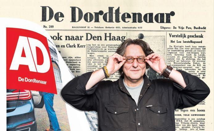 Kees Thies over 75 jaar De Dordtenaar.
