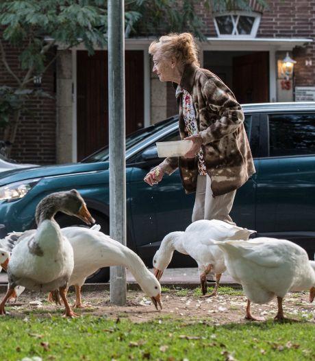 Na dertig jaar macaroni voor de ganzen stond er een bord bij Helens deur: 'Ik dacht: zijn die snotneuzen helemaal gek geworden?'