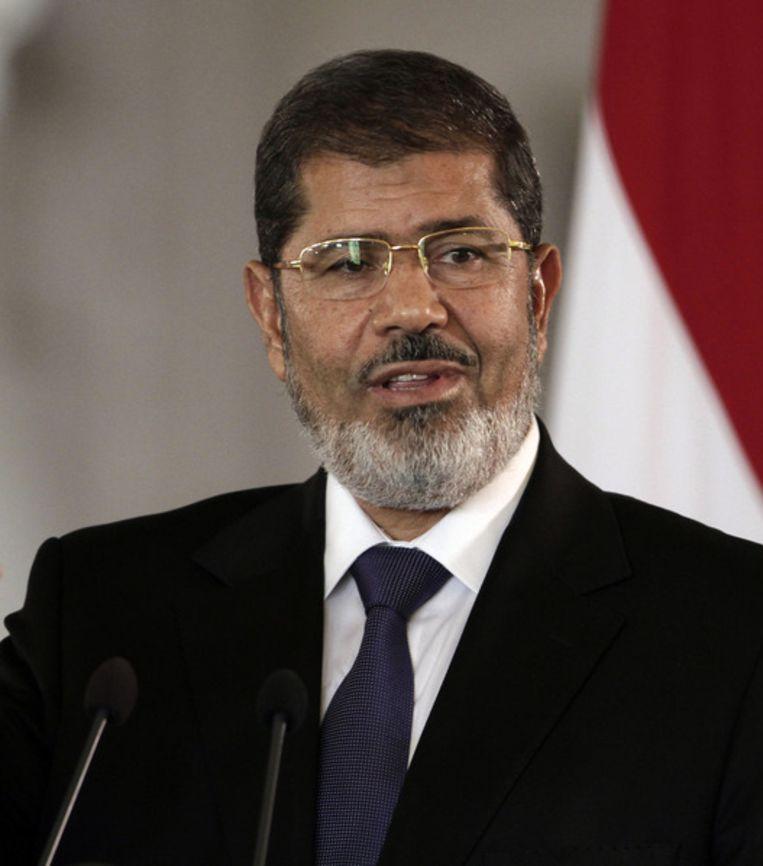Mohammed Morsi Beeld ap