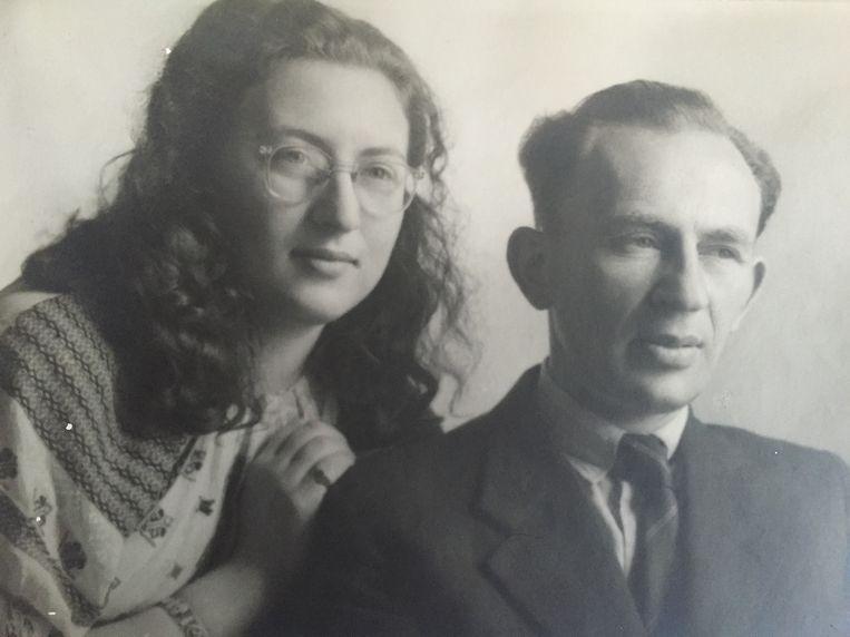 Mirjam en vader Herman Ohringer. Beeld Privéfoto