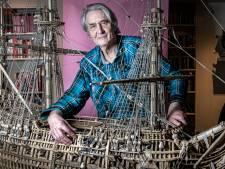 Doodzieke Eric (71) heeft al meer dan 24.000 uur in zijn unieke levenswerk zitten