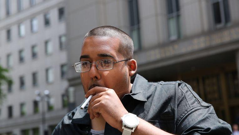 Hector Xavier Monsegur, alias 'Sabu', voormalig hacker van Anonymous en Lulzsec. Beeld epa