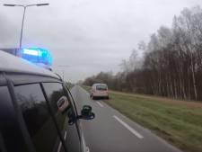 Dit doen Twentse bestuurders als ze politieauto met sirenes zien