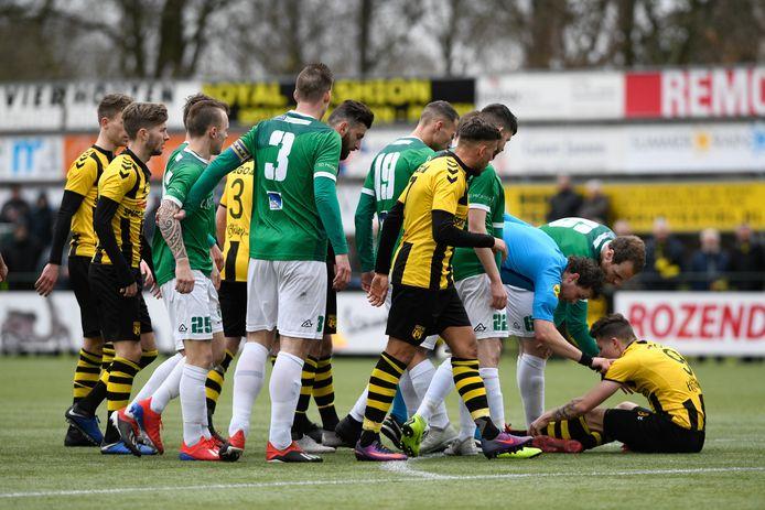 De kraker in het komende voetbalweekeinde is de Veluwse derby tussen DVS'33 en VVOG in Ermelo.
