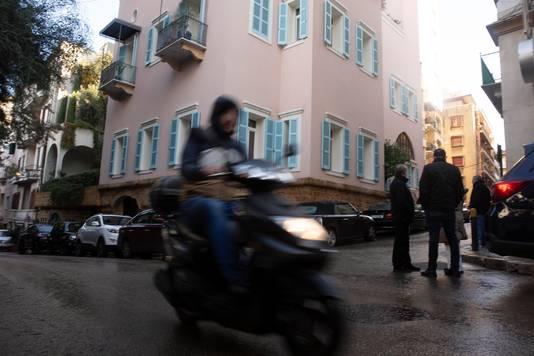 La résidence de Carlos Ghosn à Beyrouth, Liban.