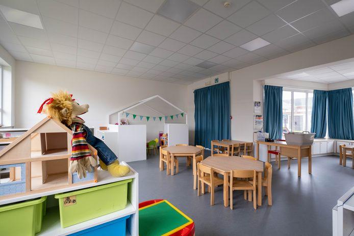 TERHAGEN TERHAGEN heropening van de vernieuwde kleuterschool Ter Doelhagen