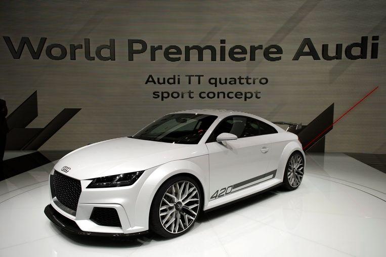 Een Audi TT Beeld EPA