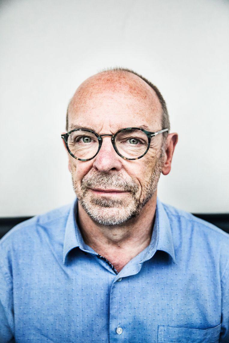Alain Gerlache: 'Dat Maggie de block in het frans weinig empathie toont, ligt moeilijk. misschien is ze de taal niet machtig genoeg.' Beeld Aurélie Geurts