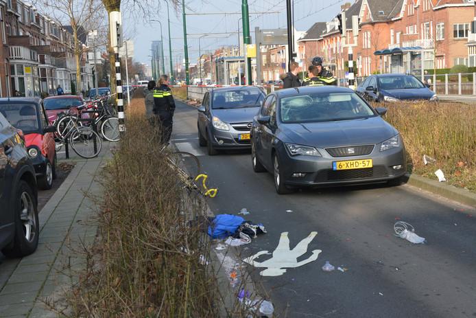Fietser aangereden op Haagweg Rijswijk.