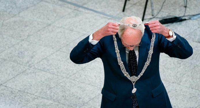 Waarnemend burgemeester Johan Remkes