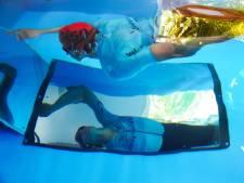 Hoe fanatiek! Triatlete Nelleke Baldé heeft een zwembad mét stroming in haar garage in Grijpskerke