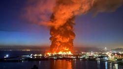 Grote brand verwoest deel van historische pier in haven van San Francisco