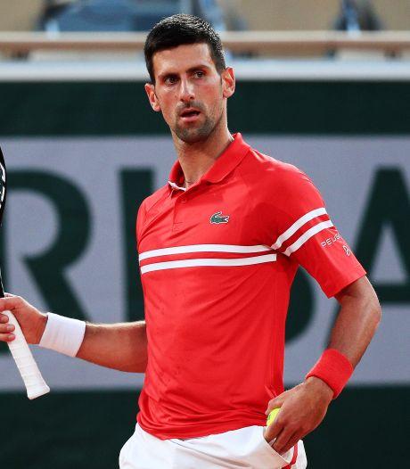 Djokovic veel te sterk voor foeterende Sandgren