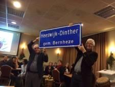 'Heeswijk-Dinther' op borden in Heeswijk en Dinther