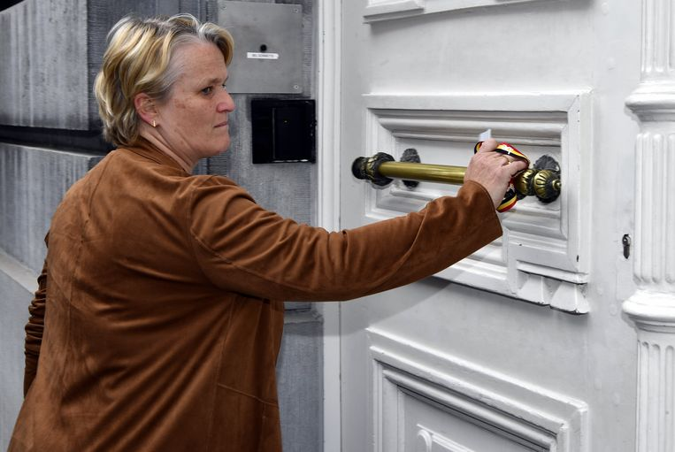 Federaal minister van Werk en Economie Nathalie Muylle (CD&V) wil voorlopig niet reageren op de vraag van de bedrijven. Beeld BELGA