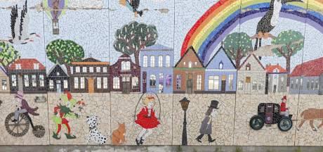 Mozaïek Mans Kapbaargtunnel in Almelo dingt mee naar eretitel voor 'Meest Favoriete Buitenkunst'