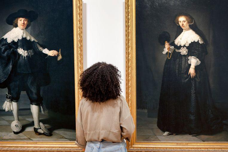 Tentoonstelling Slavernij, Tien waargebeurde verhalen in het Rijksmuseum in Amsterdam. Beeld Rijksmuseum