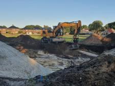 Thuiswedstrijd voor Ter Steege: bouw op voormalig voetbalveld Rijssen Vooruit begonnen