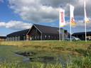 Het wegenbouwkundig laboratorium van Roelofs in Den Ham.