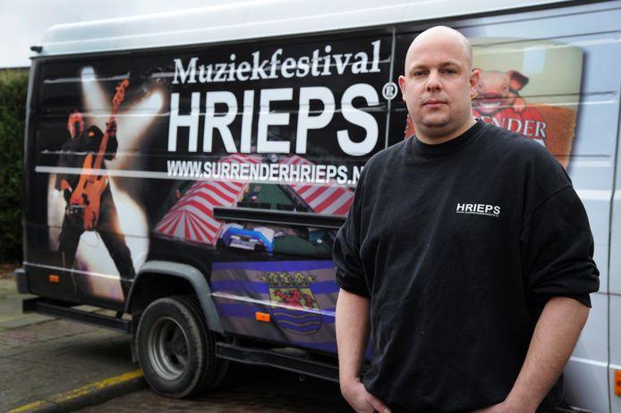 Hugo Kramer, organisator van Hrieps. foto Lex de Meester