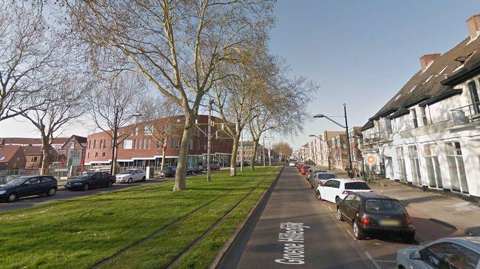De Groene Hilledijk in Rotterdam-Feijenoord was enige tijd afgesloten.