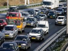 Ongeluk op de A12 leidt tot veel files rondom Utrecht