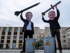 Navo laat spierballen zien: 'Poetin, handen af van Oekraïne'