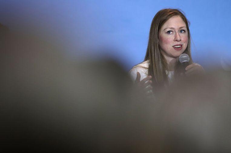 Chelsea Clinton. Beeld AFP