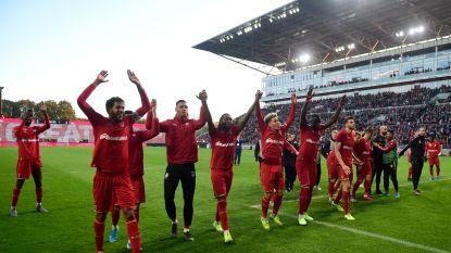 Antwerpfans tribune 1 en 2 niet meer welkom in hoofdtribune nadat enkelingen zich misdroegen