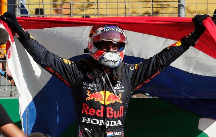 Max Verstappen hield de Nederlandse eer in Zandvoort hoog.
