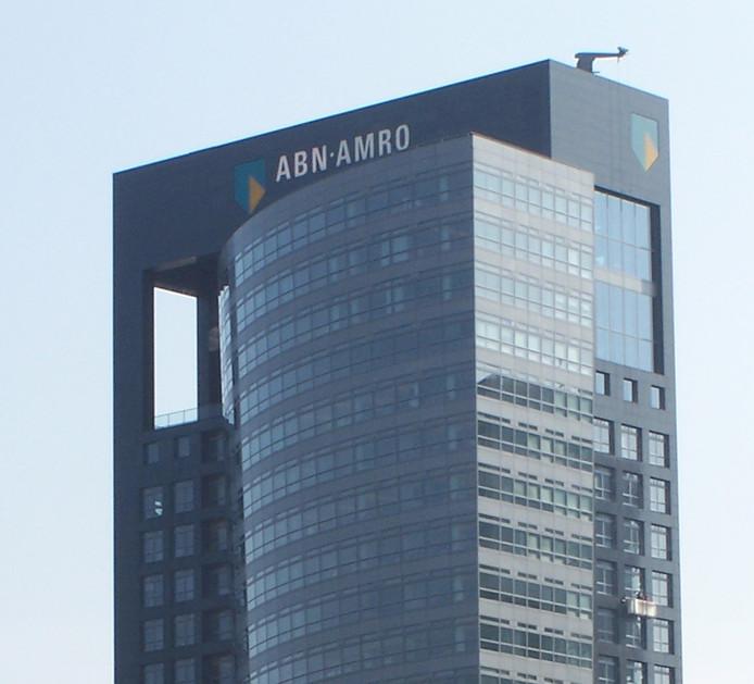 Het hoofdkantoor van ABN Amro in Nederland