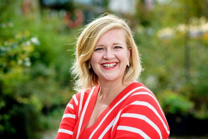 Evelien Van Hamme, bekend van kijkcijferhit Dertigers.