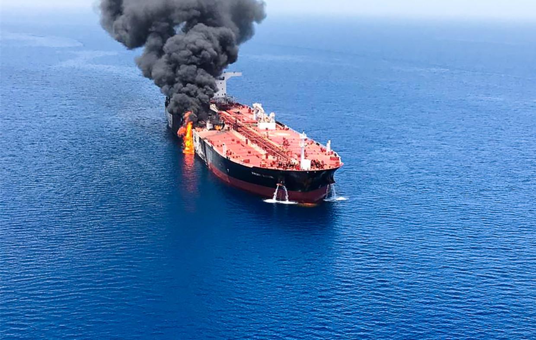 Tim Marshall: 'Als je, zoals Iran en de VS, spelletjes speelt in een nauwe zeestraat, riskeer je sneller een oorlog dan op een oceaan'. Beeld AFP