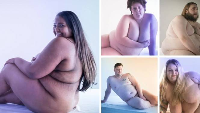 """""""Die blikken als ze horen dat ik de fitnessinstructrice ben"""": vijf obese mensen geven zich bloot voor de camera"""