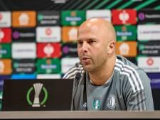 Niemand bij Feyenoord eist van Slot groepszege: 'Iedereen ziet dat wij smalste selectie in clubhistorie hebben'