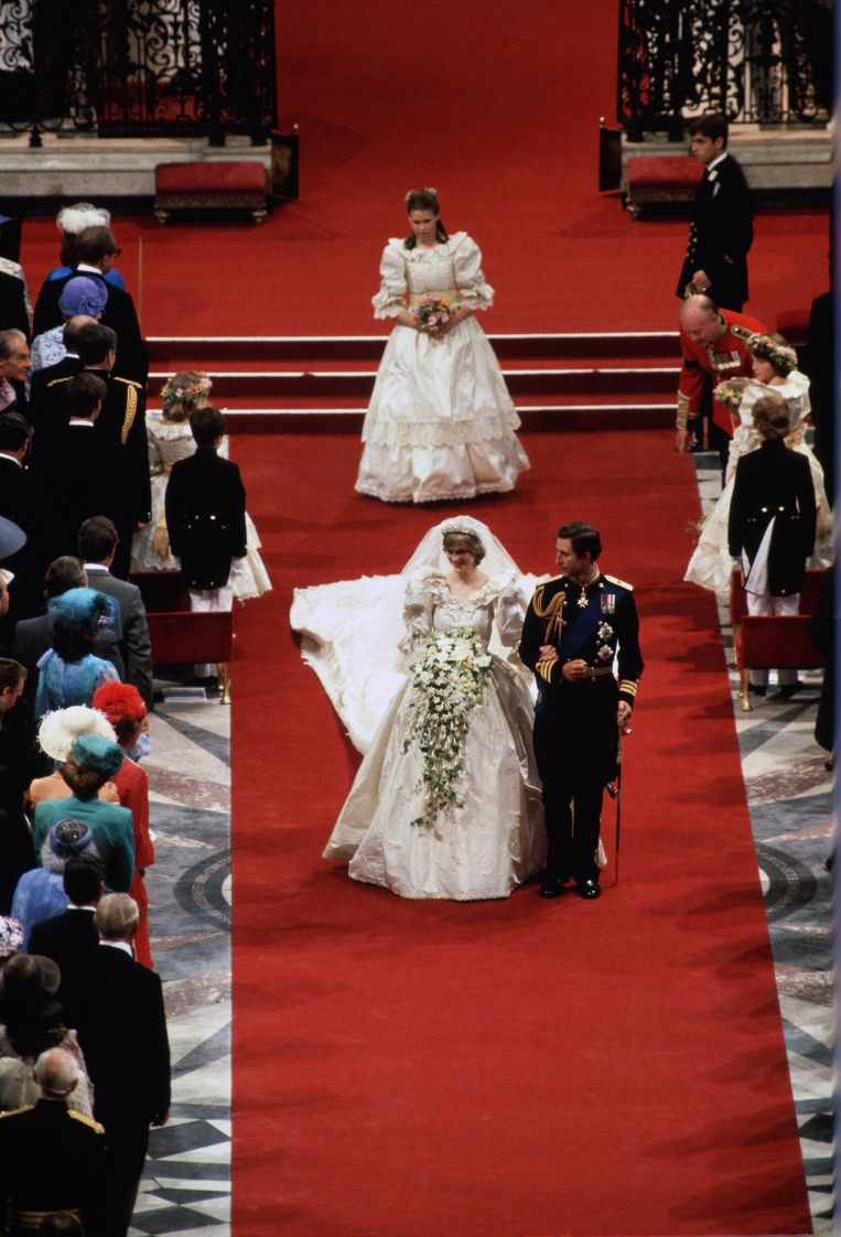 Diana bruiloft Beeld Getty Images