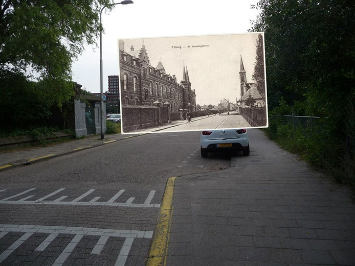 Lange Nieuwstraat. Foto Rob van Amsterdam, inzet Regionaal Archief Tilburg